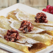 Egg N' Joe Lingonberry Crepes