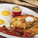 Egg N' Joe Bacon & Tillamook® Potato Cakes & Eggs