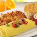 Egg N' Joe Denver & Tillamook® Cheddar Omelet