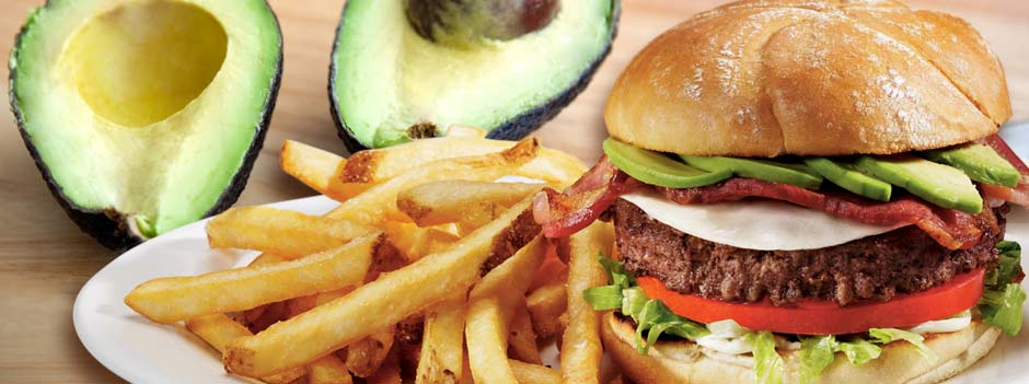 Signature Favorite: Bacon Avocado Burger