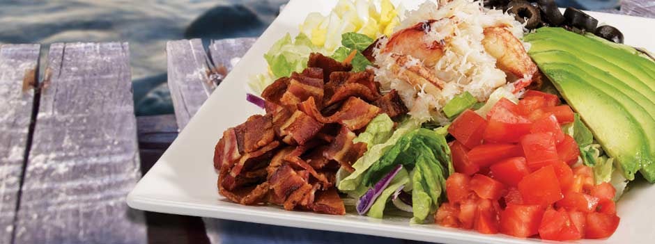 Signature Favorite: Dungeness Crab BLT Salad