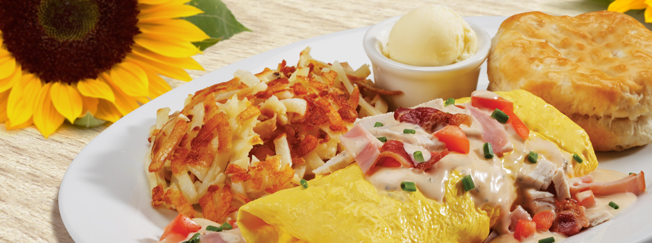 Featured Entrée: Clubhouse Omelet