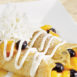 Egg N' Joe Peach Blueberry Crepes