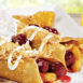 Egg N' Joe Apple Cherry Streusel Crepe Combo