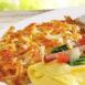 Egg N' Joe Canadian Bacon Omelet