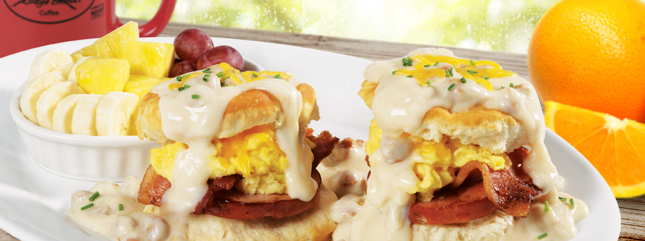 Featured Entrée: Bacon Bacon Biscuits & Gravy