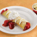 Egg N' Joe Strawberry Crepe