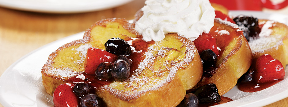 Signature Favorite: Yukon French Toast with Triple-Berry