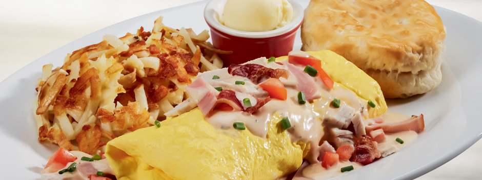 Seasonal Entrée: Clubhouse Omelet