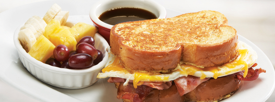 Seasonal Entrée: French Toast Sandwich