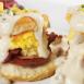 Egg N' Joe Bacon Bacon Biscuits & Gravy