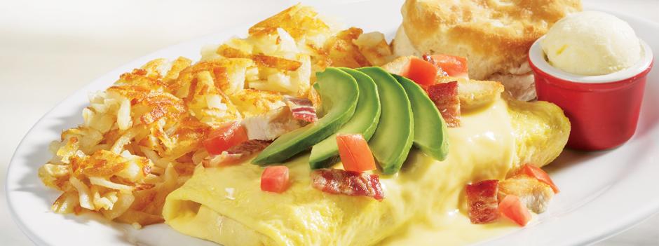 Seasonal Entrée: California Omelet