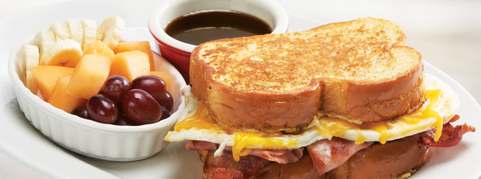 Seasonal Entrée: French Toast Sandwich